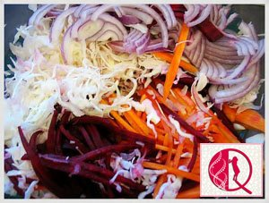 Fransız salatı (foto resept)