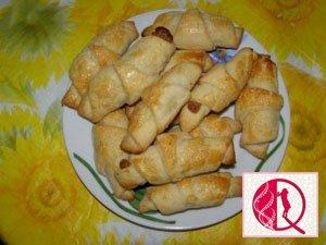Pivə ilə yoğrulmuş borucuqlar (foto resept)
