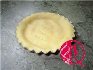 Çiyələkli və badamli mini tortlar(foto resept)