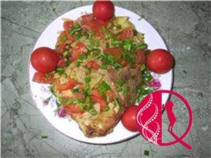 Marinada qoyulmuş şnisel (foto resept)