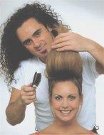 Təntənəli gecə üçün saç düzümü (foto dərs)