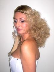 Yeni il üçün saç düzümü nümunəsi (foto dərs)