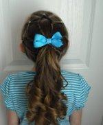 Kiçik qızlara saç düzümləri