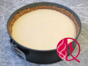 Vanilli-şokaladlı çizkek (foto resept)
