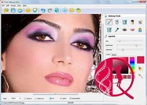 Fotomakiyaj proqramı-AMS Photo Makeup Editor v1.25