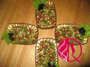 Çoban salatı (foto resept)