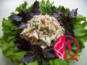 Yay salatı (foto resept)