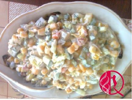 Yay salatı (2) (foto resept)