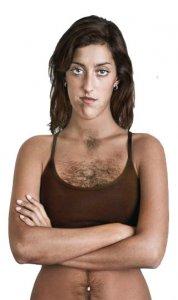 Qadınlarda kəskin tüklənmənin səbəbləri