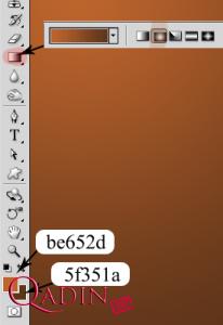 Şokoladlı yazı effekti (Dərs 11)