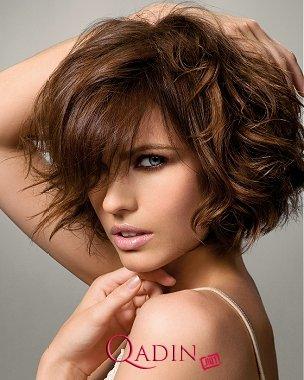 Qısa Saç Modelləri 2012ci il Trendi