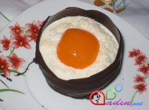 Şokoladlı sürpriz yumurta(foto-resept)