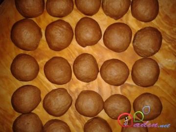 Kakaolu zəngin tərkibli bulkalar (foto-resept)