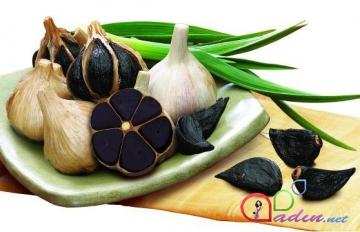 Qara sarımsağın faydaları