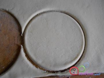 Qat-qat xəmirli içlikli keks(foto resept)