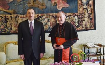 İlham Əliyev Vatikanda Qarabağı gündəmə gətirdi