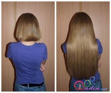 Bir ayda 20 sm saç uzatma üsulları