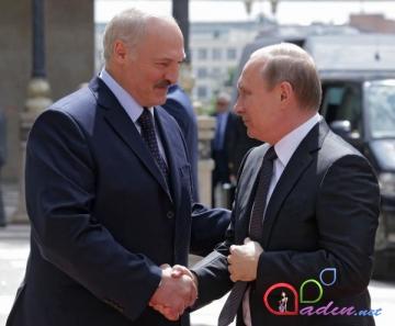 Putin Lukaşenkoya az yatmasından şikayətlənib