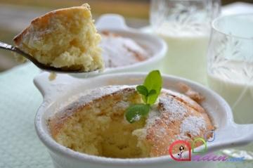 Limonlu keks (foto resept)