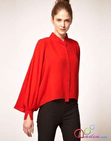 Блузка Женская Красная