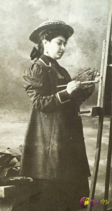 Şərqin ilk qadın rəssamı - Qeysər Kaşıyeva