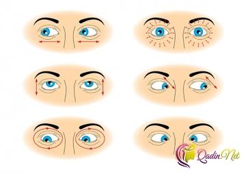 Gözlər üçün idman hərəkətləri