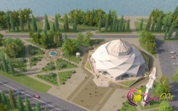 Qeyri-adi dizaynlı məscid - FOTO