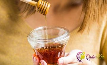Ballı çay içdikdən sonra ağzınızı yaxalayın