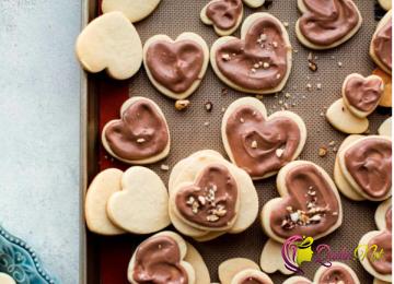 Şokoladlı peçenye (foto resept)