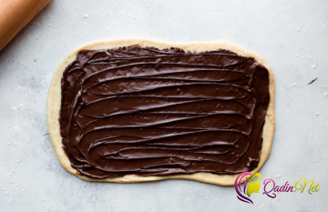 Şokoladlı bulka (foto resept)