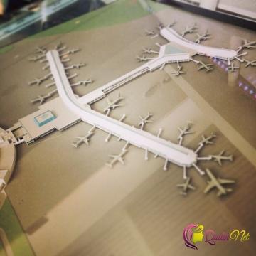 Hava limanlarında maraqlı dizaynlar