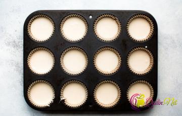 İki rəngli keks (foto resept)