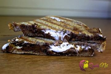 Şokoladlı tost (foto resept)