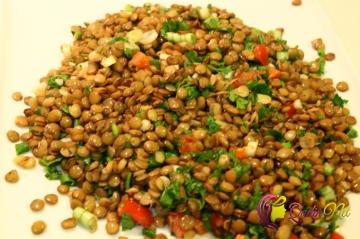 Mərci salatı (foto resept)