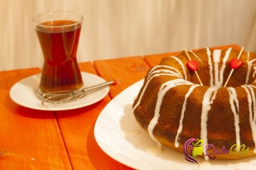 Çaylı keks (foto resept)