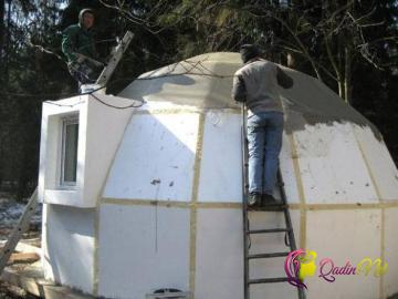 2 saata tikilən 2 minlik evlər-FOTO