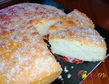 Portağallı islak keks (video-resept)