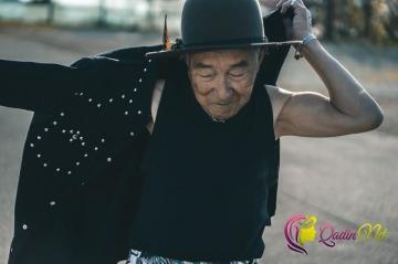 Tərzini dəyişən 84 yaşlı Tetsuya