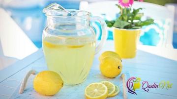 Şəkərsiz limonad (foto-resept)