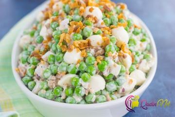 Qatıqlı noxud salatı (foto-resept)