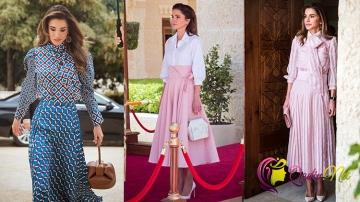 Dünyanın ən dəbli kraliçası: Rania Al Abdullah